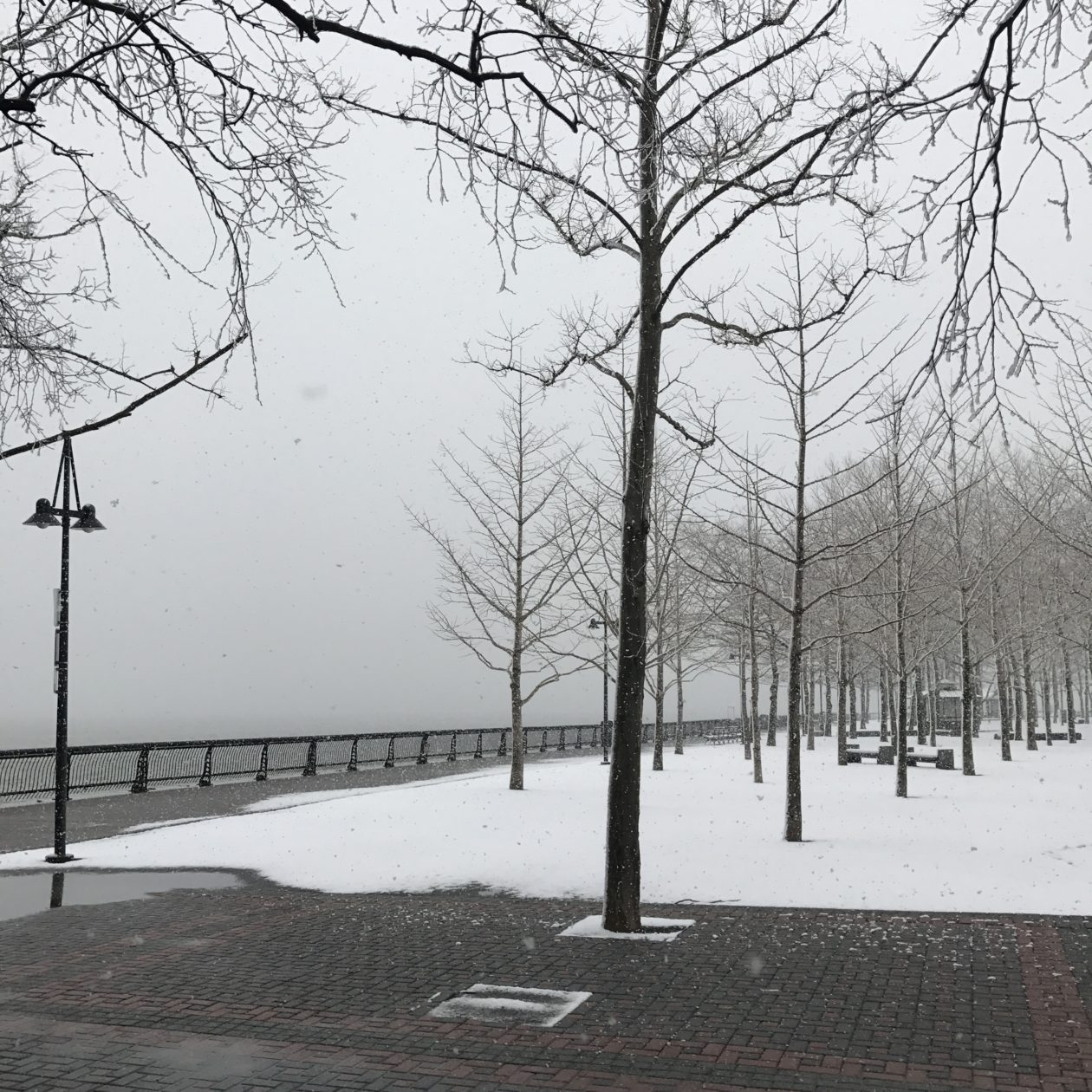 Snow in Hoboken